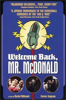 Vítejte zpět, pane McDonalde  - Rajio no jikan