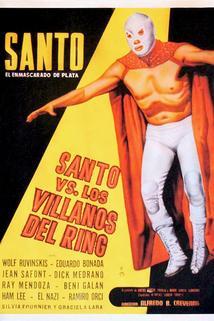 Santo el enmascarado de plata vs los villanos del ring