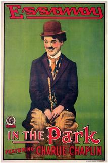 Chaplin v parku