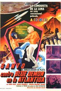 Santo contra Blue Demon en la Atlántida