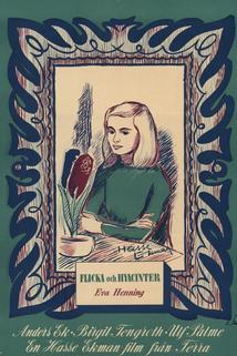 Flicka och hyacinter