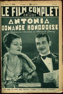 Antonia, romance hongroise