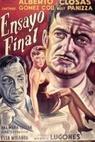 Ensayo final (1955)