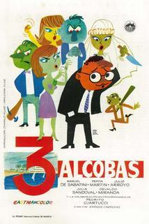 Tres alcobas