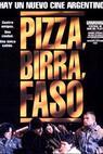Pizza, pivo, kouř