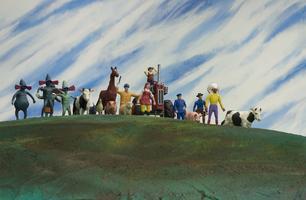 Panika v městečku: Dort, Očarovaný kovboj, Relax, Malování, Líza a Jan, Robin, Liška, Povedený výlet, Indiánův poklad, Cyklistický závod, Četníkův úžasný výlet