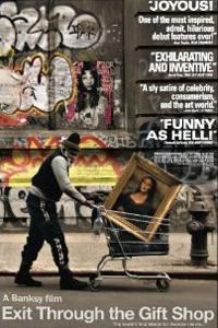 Plakát k filmu: Banksy: Exit Through the Gift Shop