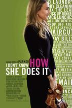 Plakát k filmu: Nechápu, jak to dokáže