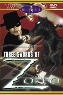 Le tre spade di Zorro