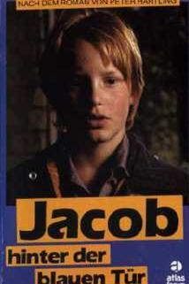 Jacob hinter der blauen Tür