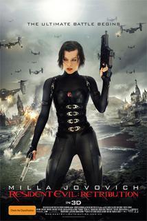 Plakát k filmu: Resident Evil: Odveta 3D