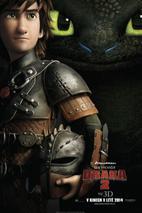 Plakát k filmu: Jak vycvičit draka 2