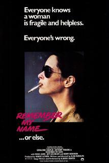 Pamatuj si mé jméno