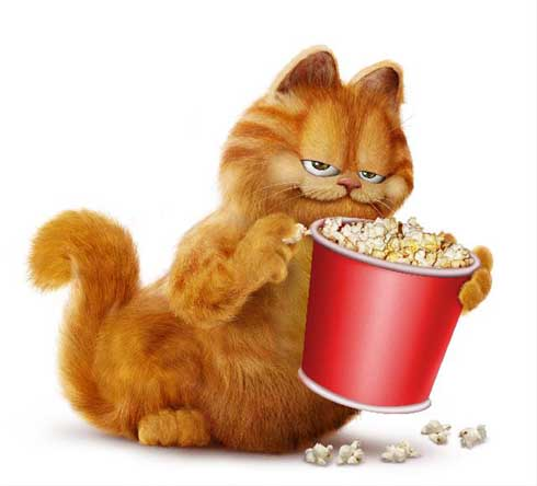 Garfield ve filmu