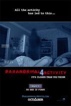Plakát k filmu: Paranormal Activity 4