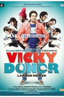 Plakát k filmu: Dárce Vicky