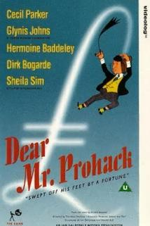 Dear Mr. Prohack