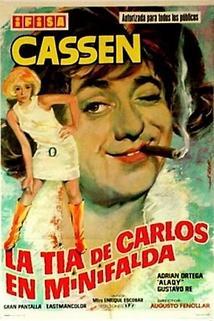 La tía de Carlos en mini-falda