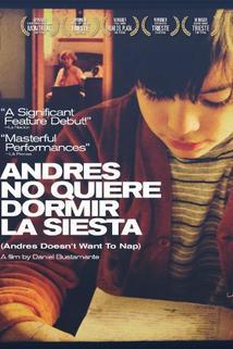 Andrés no quiere dormir la siesta