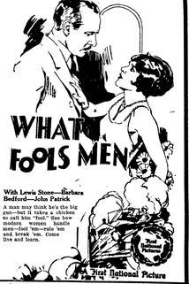 What Fools Men  - What Fools Men