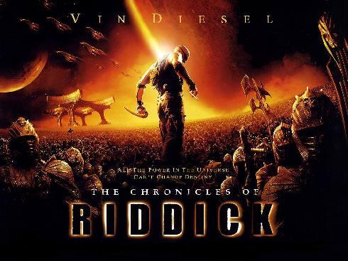 Riddick: Kronika temna