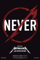 Plakát k filmu: Metallica Through the Never