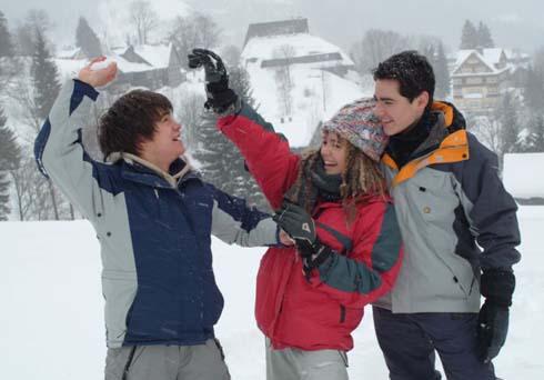 Snowboarďáci