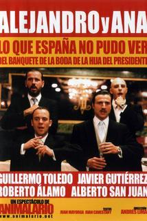 Alejandro y Ana. Lo que España no pudo ver del banquete de la boda de la hija del presidente