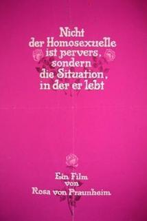 Nicht der Homosexuelle ist pervers, sondern die Situation, in der er lebt  - Nicht der Homosexuelle ist pervers, sondern die Situation, in der er lebt