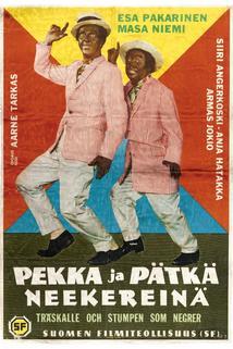 Pekka ja Pätkä neekereinä