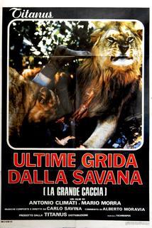 Ultime grida dalla savana