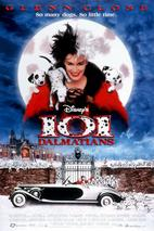 Plakát k filmu: 101 dalmatinů